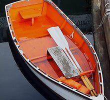 Orange bottom boat by vivsworld