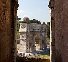 Arch Of Titus by Darren Burroughs