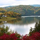 Autumn on Watauga Lake by Annlynn Ward
