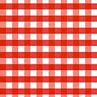 Red Gingham iphone case by Ruth Fitta-Schulz