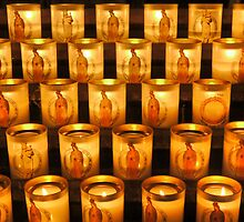 A Candle in Notre Dame by Larry Lingard-Davis