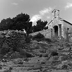 Hillside Church on Hvar Island by Jillian Rubman