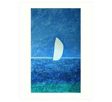 Ghost Sail Art Print