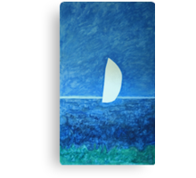 Ghost Sail Canvas Print