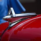 Chrome on Maroon by John Schneider