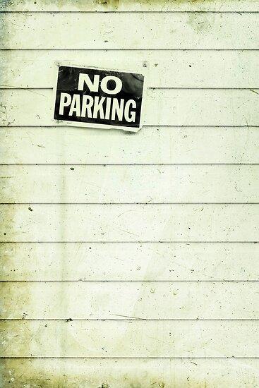 no parking by Priska Wettstein