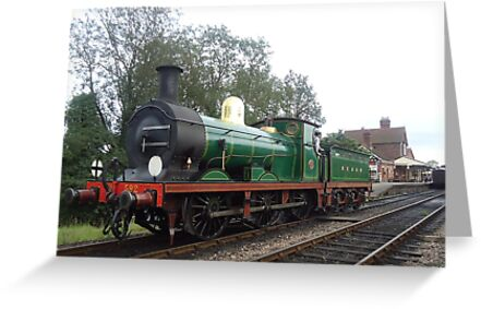 Bluebell Steam Railway - Victorian Engine - South Eastern & Chatham Railway C-class No.592 by Richard Edwards