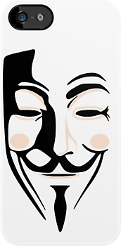 Guy Fawkes Anonymous Mask  by CaseBase