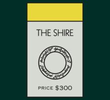 The Shire Monopoly Location ( Lord of the Rings ) by huckblade