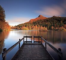 Glencoe Lochan by Photo Scotland