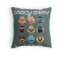DroidArmy: Maclac Squadron (on your wall!) Throw Pillow