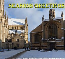 Seasons greeting from York Minster by GrahamCSmith