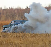 The explosion of car 1. by fotorobs