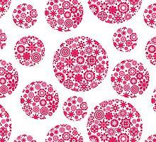 Flower balls. by Ekaterina Panova