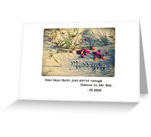 November 2012 - Lost For Words Greeting Card