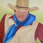 Hardworking Cowboy by Lynn Ahern Mitchell