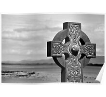 Clew Bay Celtic Cross Poster