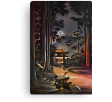 Japanese landscapes Canvas Print