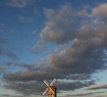 Tiny mill huge sky by yampy