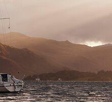 Ullswater Rays by kernuak