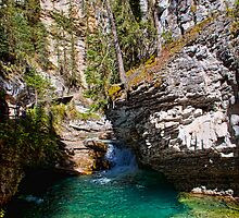 Canada. Banff National Park. Johnston Canyon. by vadim19