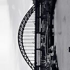 Tyne Bridge iPhone Case by DaveScoffin