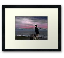 The Fisherman Rests Framed Print