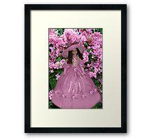 ❤ 。◕‿◕。 ☀ ツ Doll & Lilacs ❤ 。◕‿◕。 ☀ ツ Framed Print