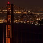 Golden Gate NIght by Brian Leadingham