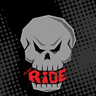 Gray Skull: Just Ride by creativeburn