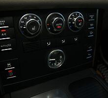 2010 Range Rover HSE Control Panel  by Daniel  Oyvetsky