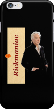 "Alan Rickman ""RICKMANIAC"" Fandesign/ i-phone by scatharis"