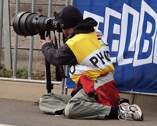 Photographing Photographers. by John Sharp