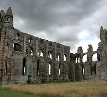 Whitby Abbey ruins by BizziLizzy