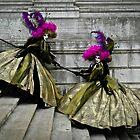 Venice Carnival Twins by thejourneysofar