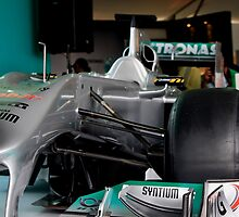 Petronas Mercedes GP F1 Car by 3rdeyelens