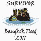Bangkok Flood 2011 by mobii