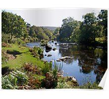 Early autumn on Dartmoor in Devon Poster