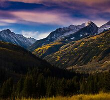 West Elk Mountains - Western Colorado by Susan Humphrey