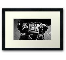 Ennui at Table 18 Framed Print