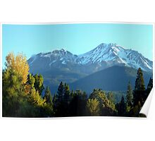 Shasta Morning Poster