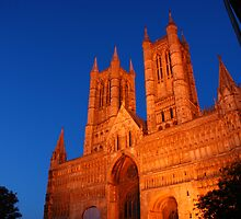 Lincoln Cathedral West Front by Scott Read