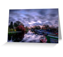 Barrow Sunrise In Motion Greeting Card
