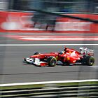 Fernando Alonso - Monza by Tom Clancy