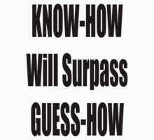 Know How will surpass Guess How by GolemAura