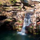 Upper Falls, Old Man's Cave - Hocking Hills State Park by Sam Warner