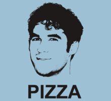 Darren Criss Pizza by SophiePi