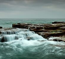 Ocean Tiers by Mark  Lucey