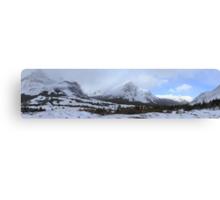 Elbow Pass valley II Canvas Print