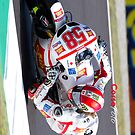 Simoncelli in Mugello  iPhone case by corsefoto